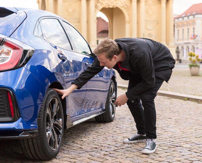 Honda Roadshow Drivers Car Check