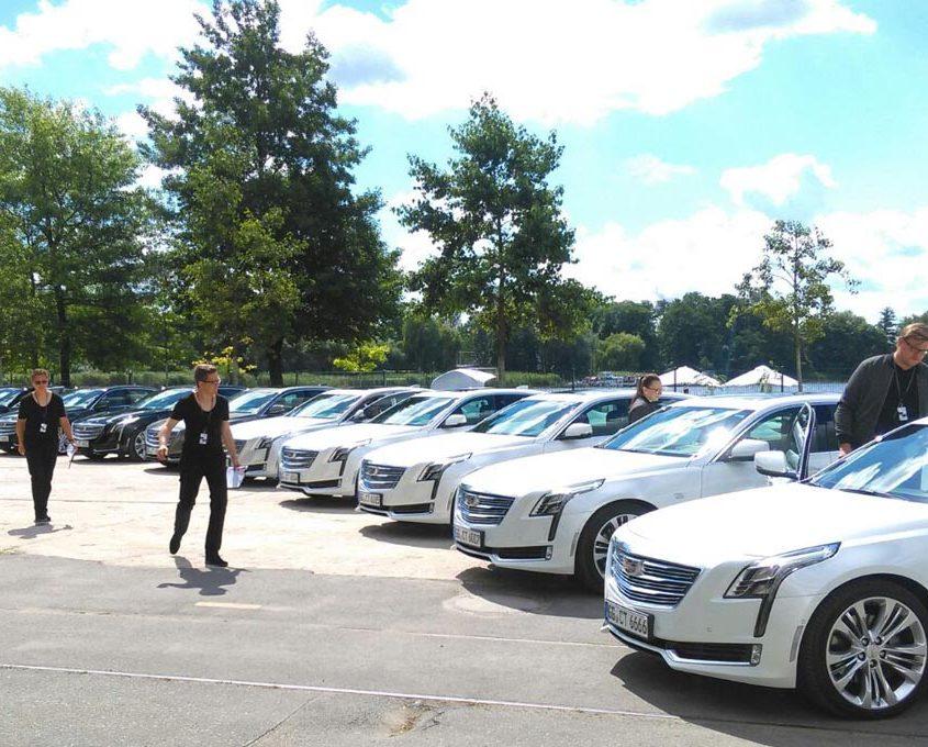 Cadillac shuttle fleet Drivers